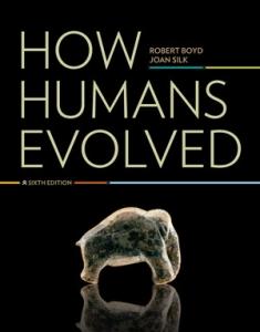 How Humans Evolved